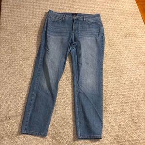 NYDJ size 16 light blue ankle Jean.